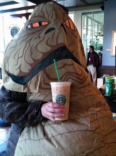 My Jabba the Hutt Costume Test Run - Grrl Still Kickin' Jabba The Hutt Costume Commercial