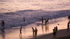music for my picture... (Ocean.movie) Tags: ocean santa ca sunset people sun beach water la sand waves monica ros sleeps sigur riceboy urvision oceanmovie