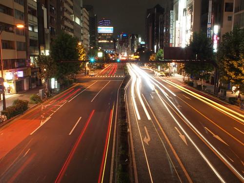 OLYMPUS PEN EP-1 夜の渋谷で試し撮り