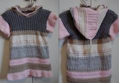 virkad och stickad tunika i ett (myemla) Tags: virkat stickat tunika