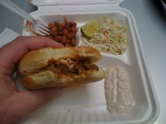 Pulled Pork sandwich from BBQ Fusion