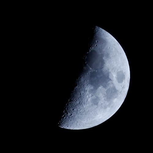 half moon astronomy - photo #1
