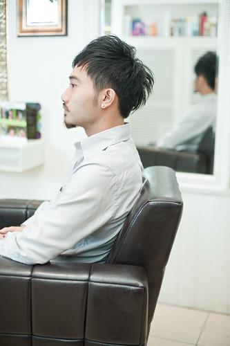 【男生髮型】立體 利落