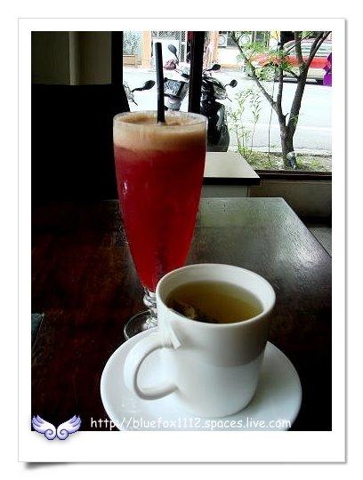 090918-1花宜6輪4日遊_璞石咖啡館15_玄米茶&現打蔬果汁