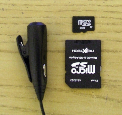 When is small TOO small? - Headphone mic adapter for Treo