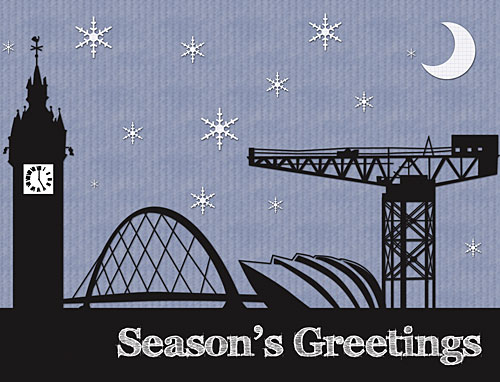 Glasgow Craft Mafia Christmas Card