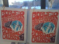 posters for brooklyn bowl (stijky) Tags: poster gratefuldead screenprinting silkscreen bobweir scaringthechildren