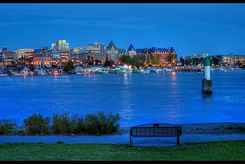 The Blue Hour HDRVictoria B.C