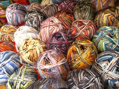 Knit in wool.Knit in colour.And knit again! (sifis) Tags: art love wool canon knitting athens yarn greece tradition handknitting  sakalak  culyure