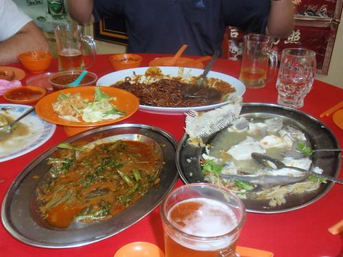 Chinese Dinner in Melaka