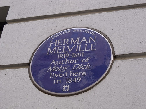 25 Craven Street, London - former home of Herman Melville - blue plaque
