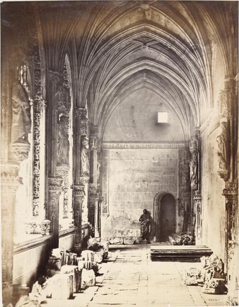 Claustro de San Juan de los Reyes en 1857. Fotografía de Charles Clifford. © Victoria and Albert Museum, London