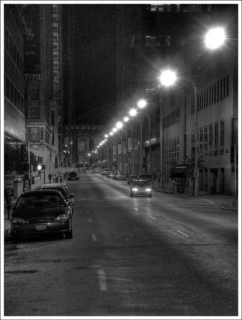 Eighth Street at Night