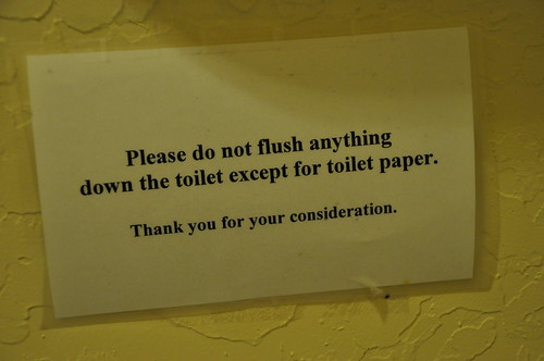 Okay, but what should I do with all of the poop and pee?