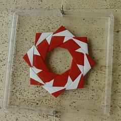 Ring 13 B von Tomoko Fuse - Vorderseite (Tagfalter) Tags: origami ring tomokofuse