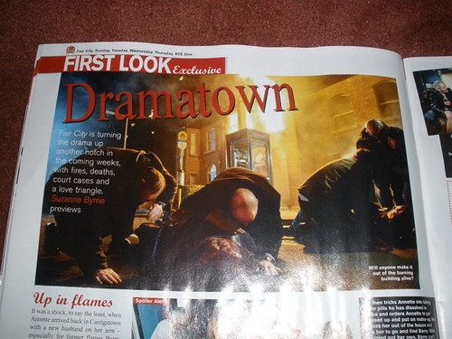 Fair City fire (RTE Guide)