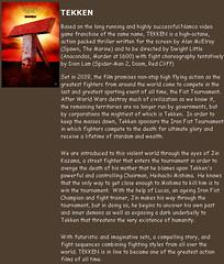 091031 - 好萊塢真人電影版『鐵拳 Tekken』預定2010年3月全球首映