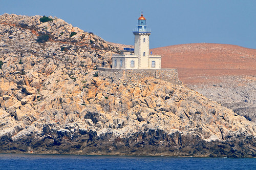 Greek lighthouse