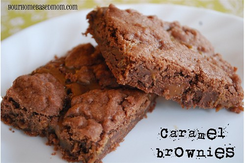 caramel brownies - Page 385