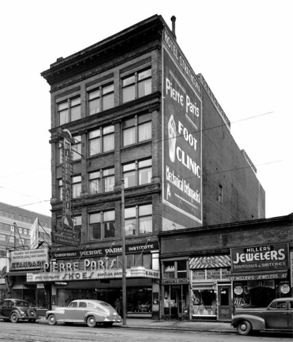 Paris Block - exterior ca. 1945