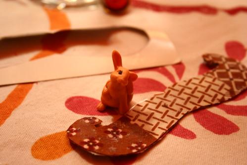 bunny stache