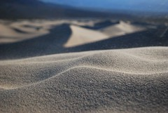 Blowing Sand (bensz99) Tags: california trip travel usa macro texture nature closeup outdoors nationalpark sand unitedstates desert wind hiking dunes deathvalley sanddunes 2011 blowingsand