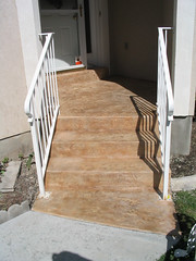 Work by: Gardner's Concrete (contecsupply) Tags: beautiful rock stone steps overlay stamp porch gr slate stamped flagstone ext porches granicrete