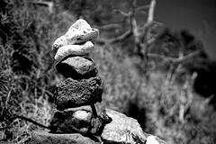Rock totem (Carlos A. Aviles) Tags: 20172912lascasitasvillageconsquistador blackandwhite blancoynegro palomino fajardo puertorico rock totem