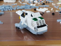 Sea King WIP, 10th of February (Mad physicist) Tags: lego helicopter sea king sikorsky wip workinprogress