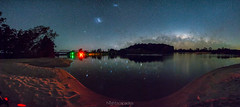 A stitched stretch of river (nightscapades) Tags: astronomy astrophotography autopanopro bodalla bridge eurobodalla galacticcore milkyway night nightscapes pano panorama panos sky southcoastnsw stars stitch tuross turosshead turossriver turossriverbridge newsouthwales australia au