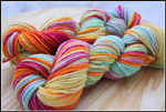 'McKenzie's Rainbow' on Inspire BFL aran