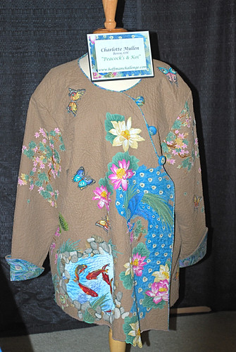 Koi and Peacock Jacket