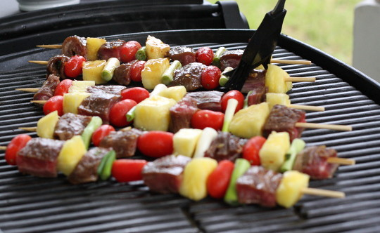 Beef Teriyaki Kebabs
