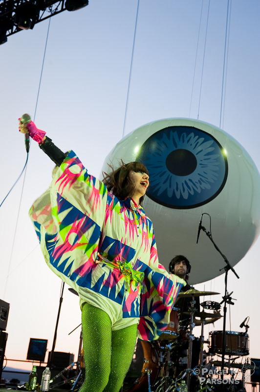 Karen of the Yeah Yeah Yeahs @ Sasqatch