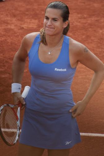 Roland Garros 2009 - Amélie Mauresmo