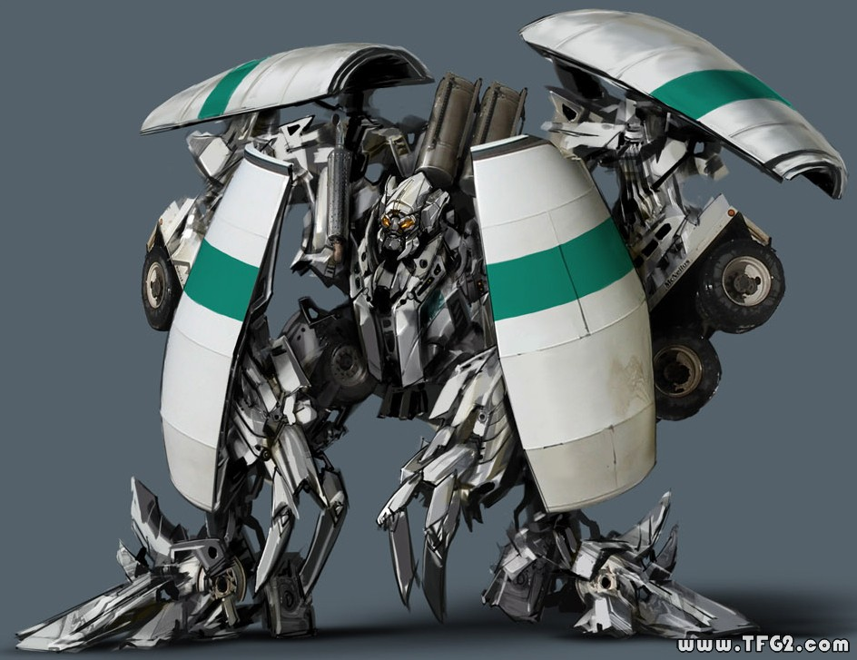 Transformers 2 Mixmaster CGI