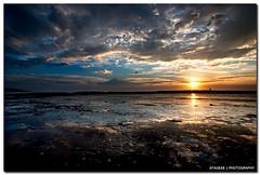 I Am Forever Chasing The Sun (Sam Ili) Tags: ocean light sea summer sky sun color silhouette clouds sunrise canon australia symmetry nsw dri hdr ulladulla topaz lucisart lucis mollymook shoalhaven explored 450d canon1022mm3545