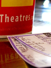UP (disneychick) Tags: up cup movies theatre tickets red megaplex thedistrict project365