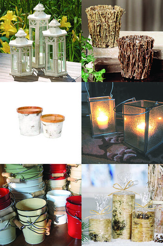 has some great items to create that warm and cozy rustic chic wedding