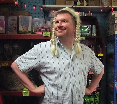 Me in Blonde Wig