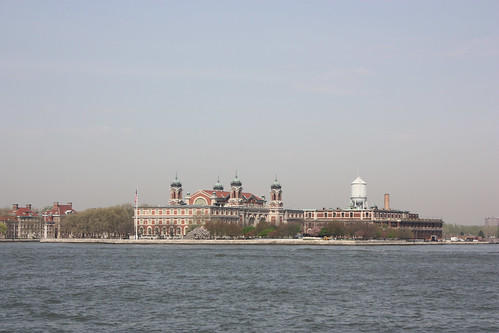 Ellis Island from the Ferry