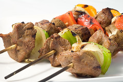 Marinated Beef and Veggie Skewers (rkazda) Tags: beef bbq grill skewers foodrecipelifesambrosialifesambrosiadesdesereecookingcookchefdinnerlunchmealsnack
