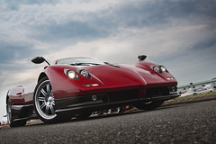 Zonda S Roadster... ([ JR ]) Tags: red sport rouge bordeaux s collection exotic 2009 supercar zonda roadster pagani c12 vigeant fialeix