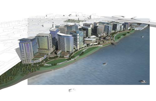 Columbia Waterfront rendering