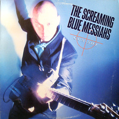 Screaming Blue Meanie (epiclectic) Tags: music records art rock vintage guitar album vinyl retro collection jacket cover lp record axe 1986 sleeve screamingbluemessiahs epiclectic
