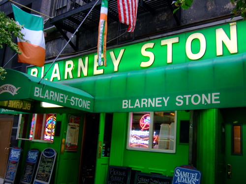 Blarney Stone Happy Hour