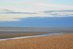 I can see for miles.... (Claire*D) Tags: beach kent shingle littlestone a300 seascap