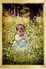 Leire (irfan cheema...) Tags: park flowers baby girl forest weeds child shanghai bushes leire irfancheema 'familygetty2010'