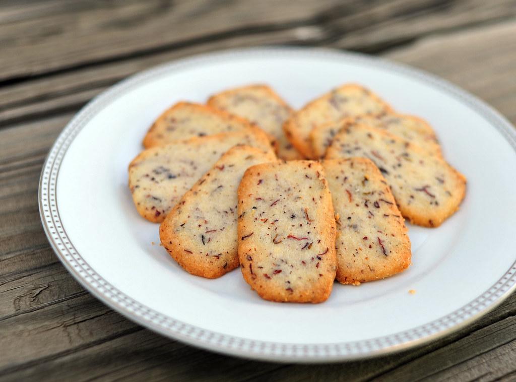 Rose Petal Shortbread (Cookie Jar Project Week 8)