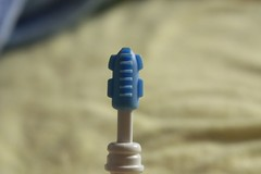 silicone bristles